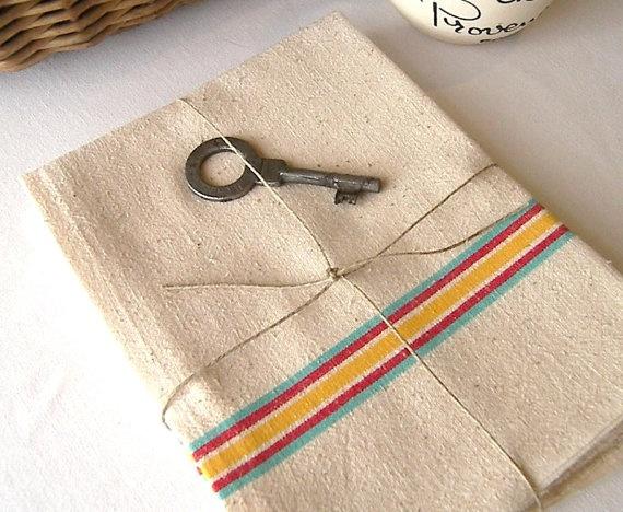 Three French Linen Kitchen Towels Linen Kitchen By VictoriasAttick