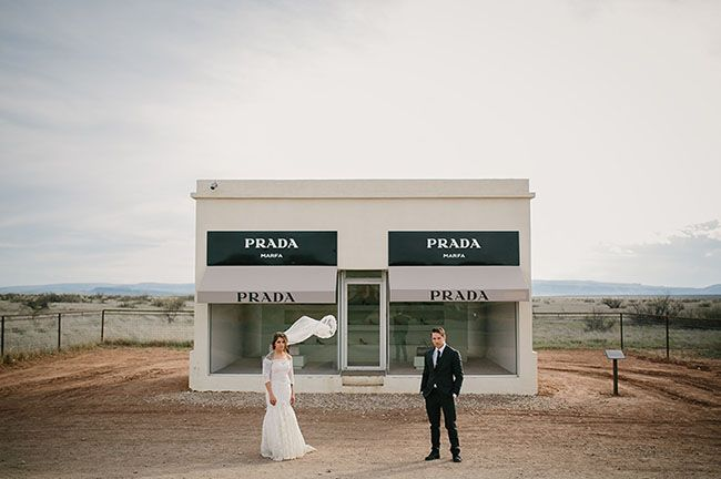 Marfa, Texas is one of the most surreal places on the planet, so it's no big surprise that we totally fall for pretty much every wedding that's ever taken place there. Lauren + Chase are creatives by trade (he a designer + musician, and she a talented photographer) so they really called upon their innovative eye and exceptional taste to...