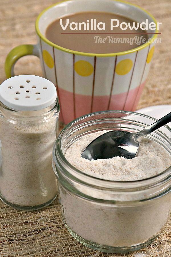 Homemade Vanilla Powder Recipe Vanilla Bean Powder Homemade Vanilla Starbucks Vanilla