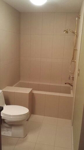 Custom Made Tile Soaking Tub Shower Roman Tub All
