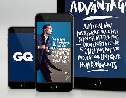 """Check out new work on my @Behance portfolio: """"GQ Generations"""" http://be.net/gallery/36230997/GQ-Generations"""