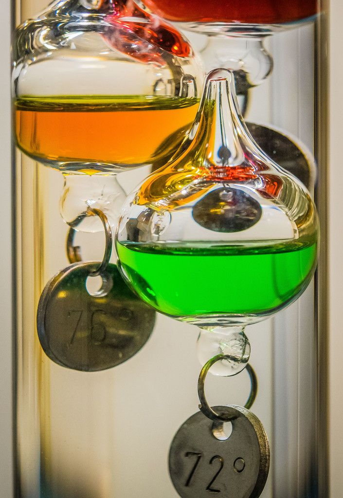 Galileo's Thermometer by rosiekerr