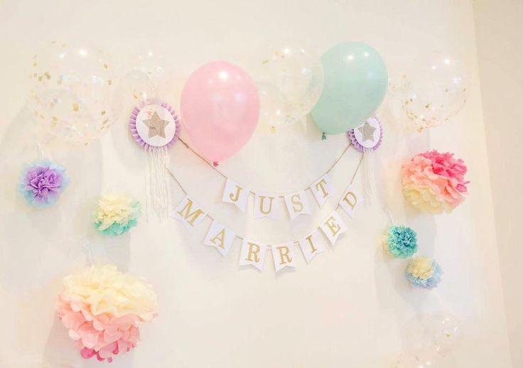 ヘリウムガス不要のバルーンの飾り方まとめ   marry[マリー]