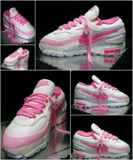17 Best images about Nike cake on Pinterest | Shoe cakes