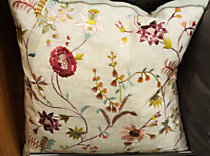 Floral cushion by John Lewis