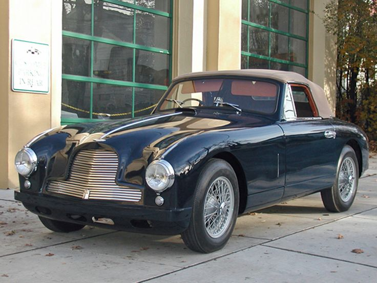 1953 Aston Martin DB2 DHC. This factory RHD model was one of the last 50 built. It has been extensively restored and is now ready to be enjoyed by a new owner.  (Picture 1 of 2) SOLD
