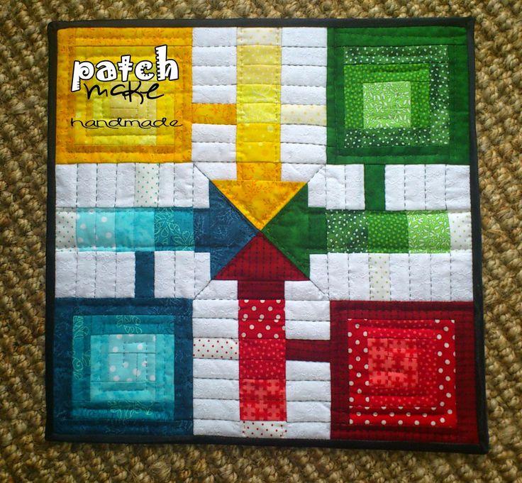 Parchis | Patchmake. Blog de patchwork
