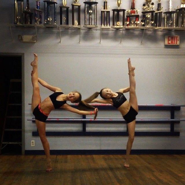 Sarah Hunt and Brooke Konsinki  Credit kept follow♥Dancemoms luver♥
