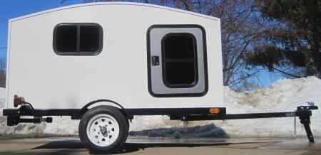 New 2014 Gsi WonaDayGo 4' x 8' 1-2 Person Enclosed Tailgate Trailer ATVs For Sale in Illinois.
