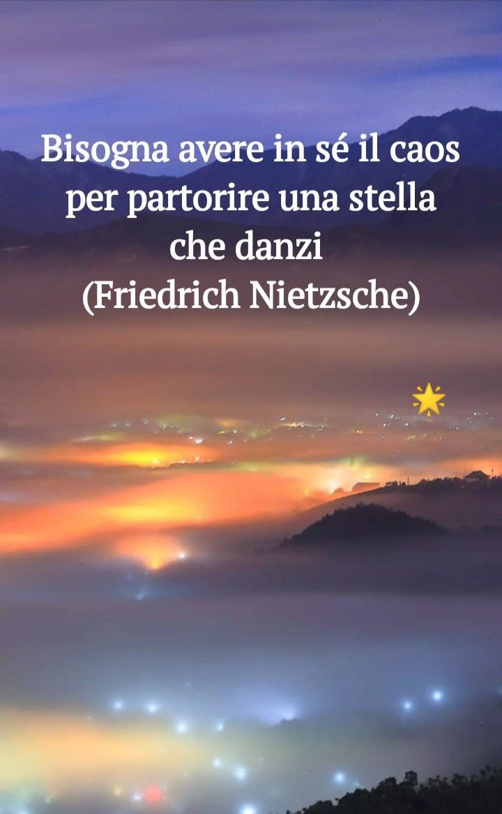 Stella Danzante Friedrich Nietzsche Riflessioni Danza