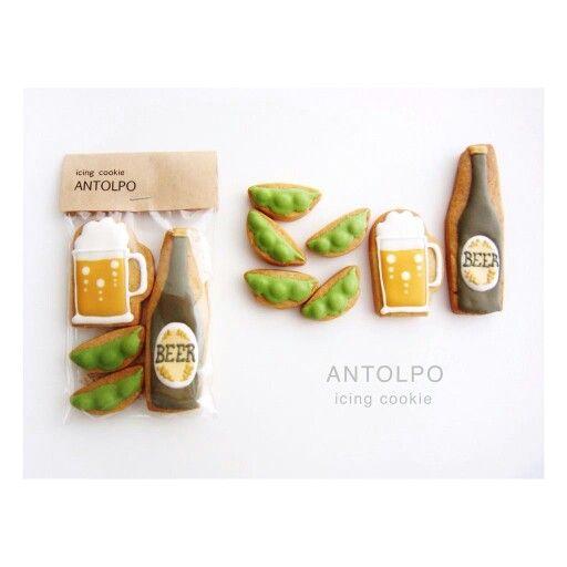 Beer Icing Cookies of Antolpo, Japan