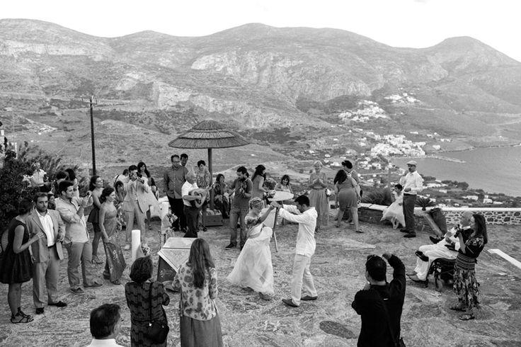 Γαμος στην Αμοργο, Wedding on Amorgos island