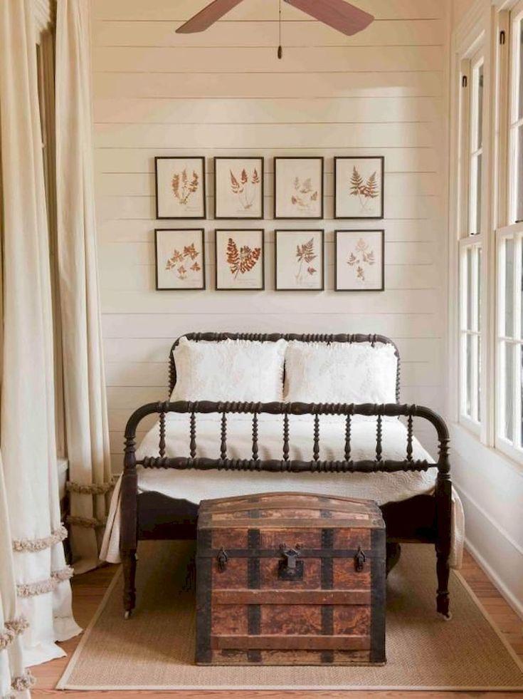 Kuhle 80 Erstaunliche Bauernhaus Schlafzimmer Dekor Ideen Fur Ein