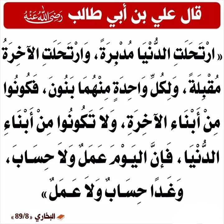 Pin By Samsung S5 On أقوال الصحابة والعلماء Ali Quotes Funny Arabic Quotes Quotes