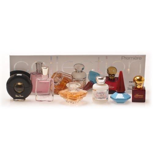 6 Mini Perfume Set Paloma Picasso, Miracle, Tresor, Anais Anais, Lou Lou, Lauren