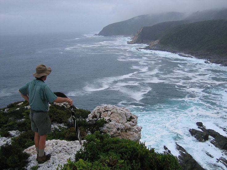 One of the country's most famous walking routes, the 41km Otter Trail stretches from Plettenberg Bay in the West to Jeffrey's Bay in the Eastern Cape Province. The easy five-day walk hugs spectacular coastline, which is part of the protected Tsitsikama Forest and Coastal National Park. Read more about the #GardenRoute on our website.