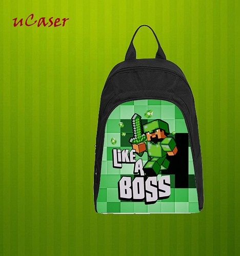 MC Like a Boss, Custom Casual school bag, Backpack
