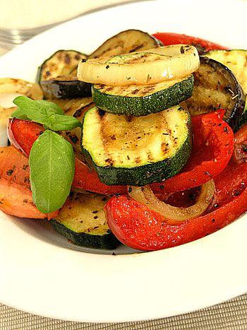 Ratatouille z grillowanych warzyw