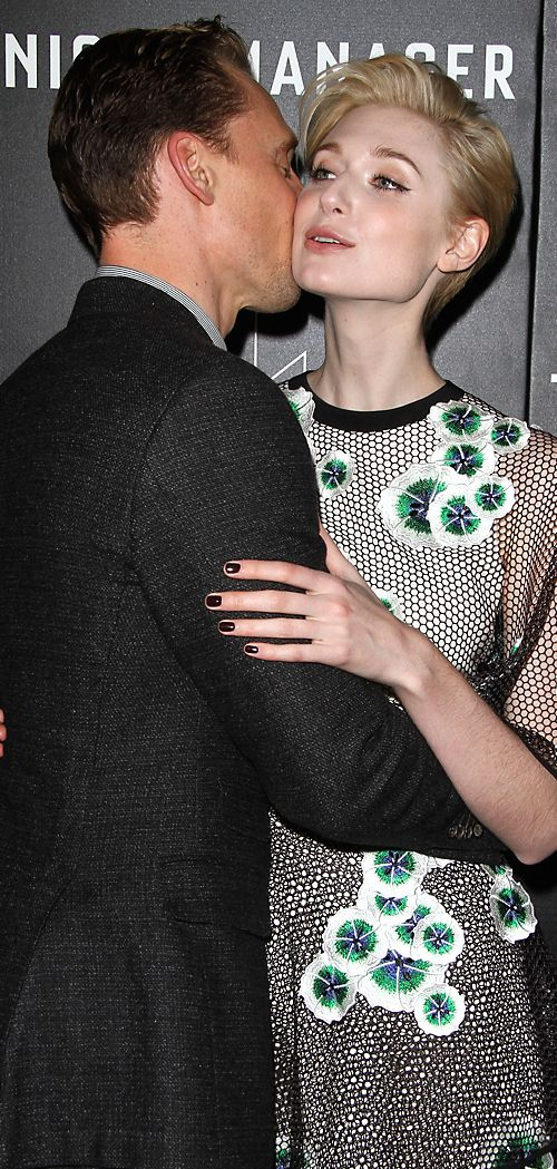 Elizabeth Debicki and Tom Hiddleston attend the premiere of AMC's The Night Manager at DGA Theater on April 5, 2016 in Los Angeles, California. Full size image: http://ww2.sinaimg.cn/large/6e14d388gw1f2mzccx857j22o03q0qv6.jpg Source: Torrilla, Weibo