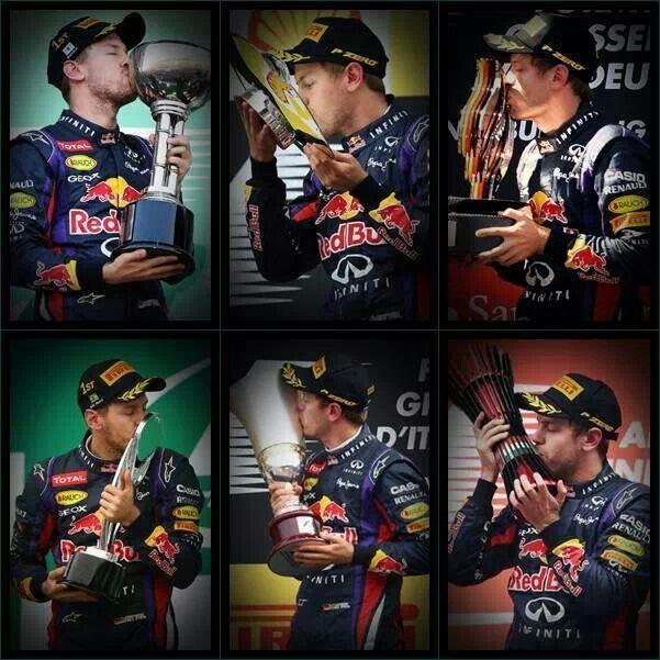Sebastian Vettel F1 2013 season