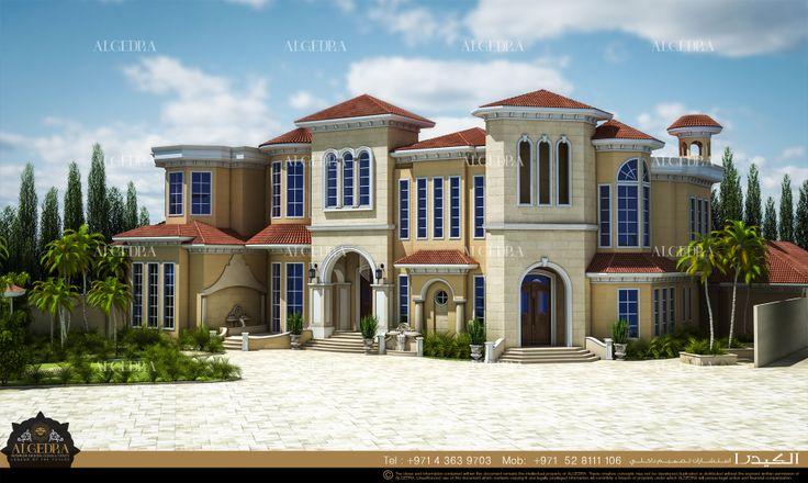 Andalusian-style villa by Algedra Interior Design
