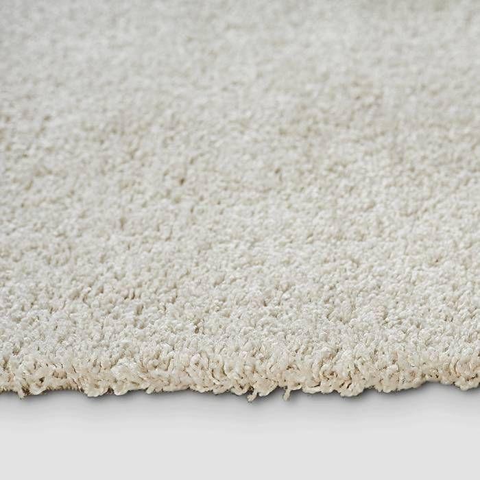 Hoogpolig vloerkleed - Shaggy Ivory effen