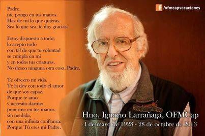Oración del Padre Larrañaga. ¡Hermosa!