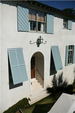 Design Chic - love the bermuda shutters