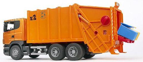 03560 - Bruder Scania R Series Garbage Truck