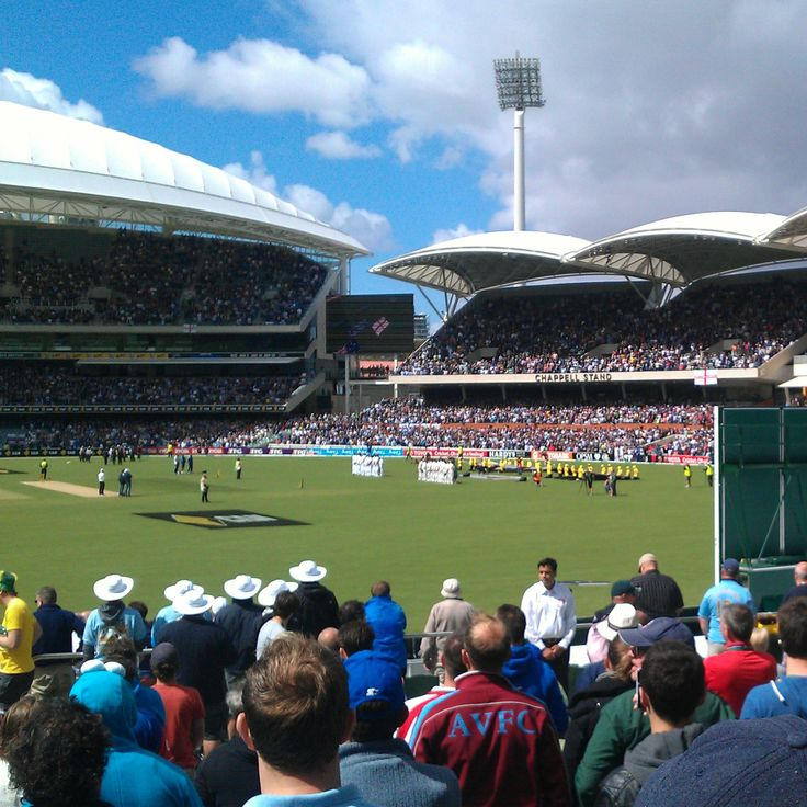 One last shot of #TheAshes at the new #Adelaideoval #southaustralia #ashes #adelaide #australia #gadelaide