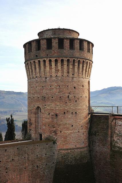 Brisighella (Italy), la rocca. 44°13′00″N 11°46′00″E