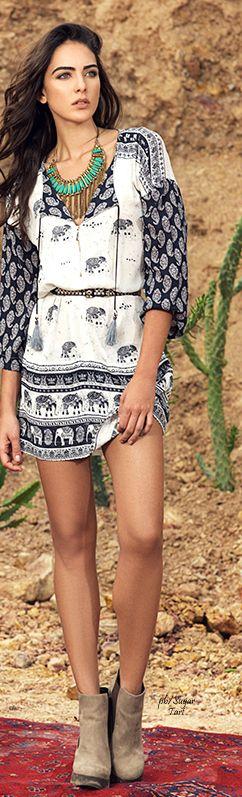 bohemian boho style hippy gypsy fashion
