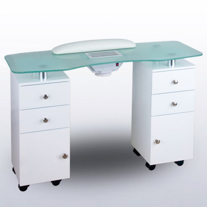78 best images about nail salon on pinterest pedicures for Small manicure table