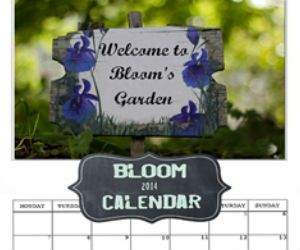 Win a 2014 Bloom Calendar by Sam Wales