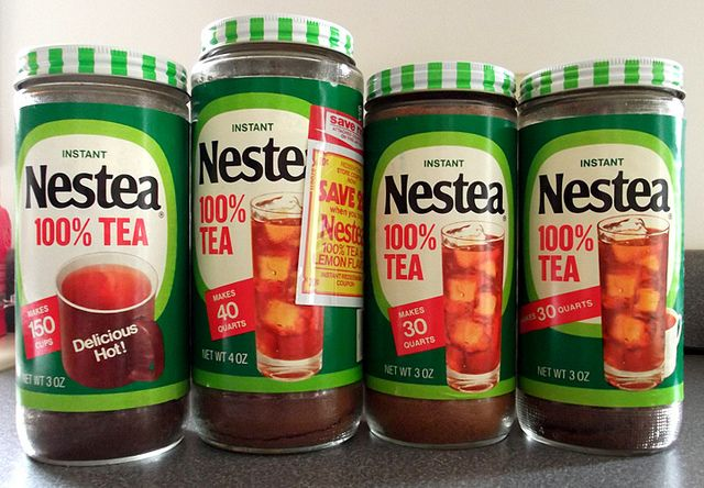 Nestea from the 70s - my mamaws house wasn't complete without this. Always had a pitcher ready in the fridge.