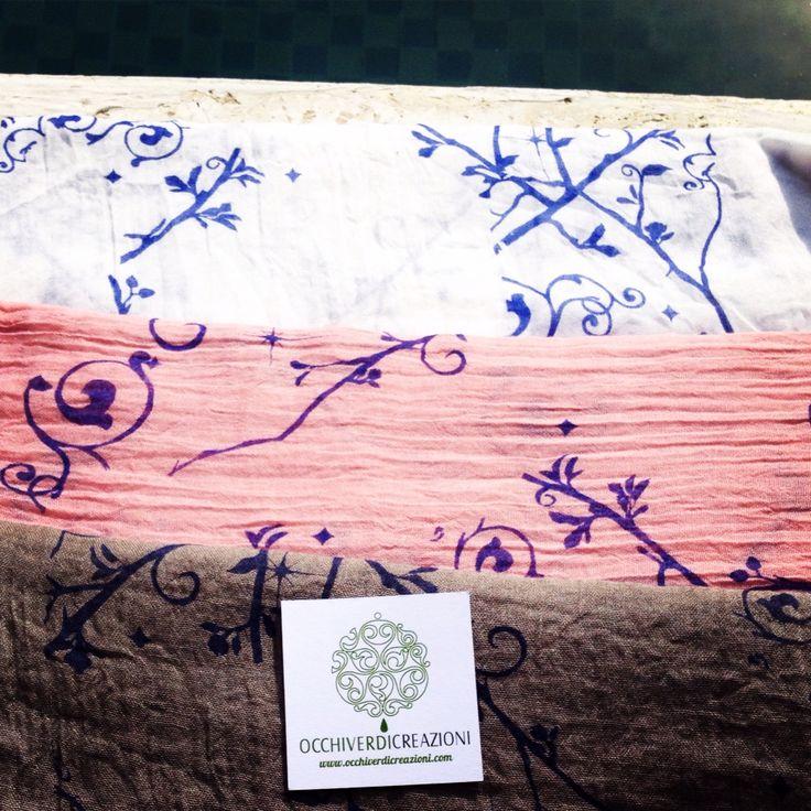 Sciarpe/pareo on sale! Buy them here: www.occhiverdicreazioni.com