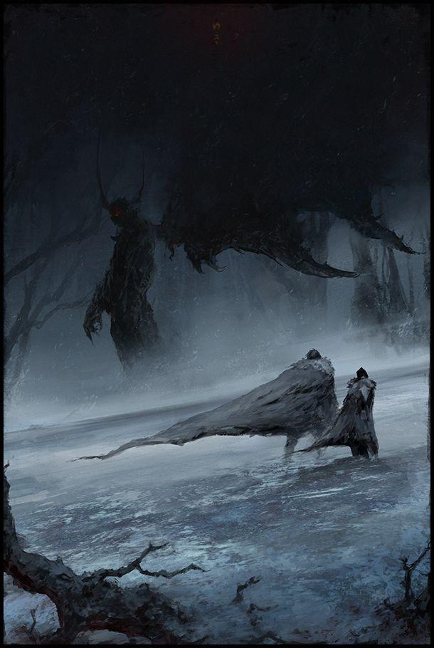 El demoño De las alas negras athia