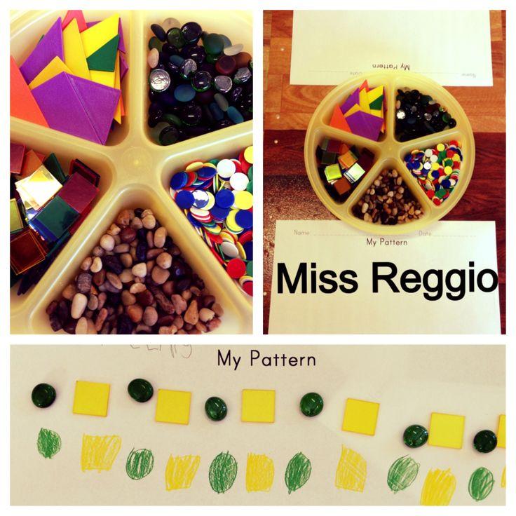 Provocations (Reggio) Patterns