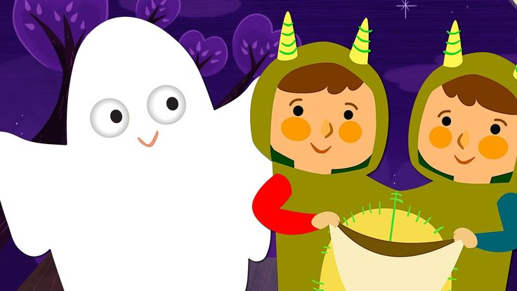 """Watch the full Super Simple Songs - Halloween DVD here!: https://www.youtube.com/watch?v=Se4e4... """"Knock Knock, Trick Or Treat?"""" is the perfect kids' song fo..."""