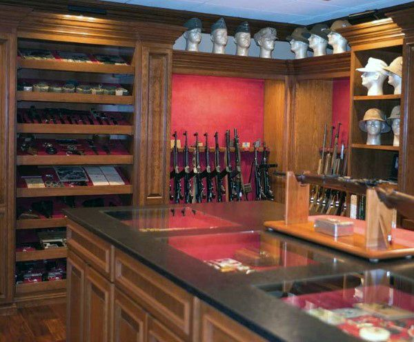 Discover The Top 100 Best Gun Room Designs Featuring Cool Armories Youll Want To Acquire Explore Traditional Cabinetry Modern Shelving Security