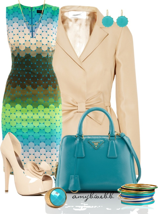 """Great Spring outfit - """"Dress!!!!"""" by amybwebb ❤ liked on Polyvore"""