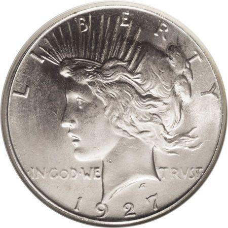 1927-S Peace Silver Dollar Coin Value, Facts