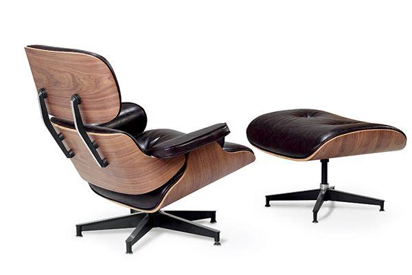 Replica Eames Lounge Chair + Ottoman