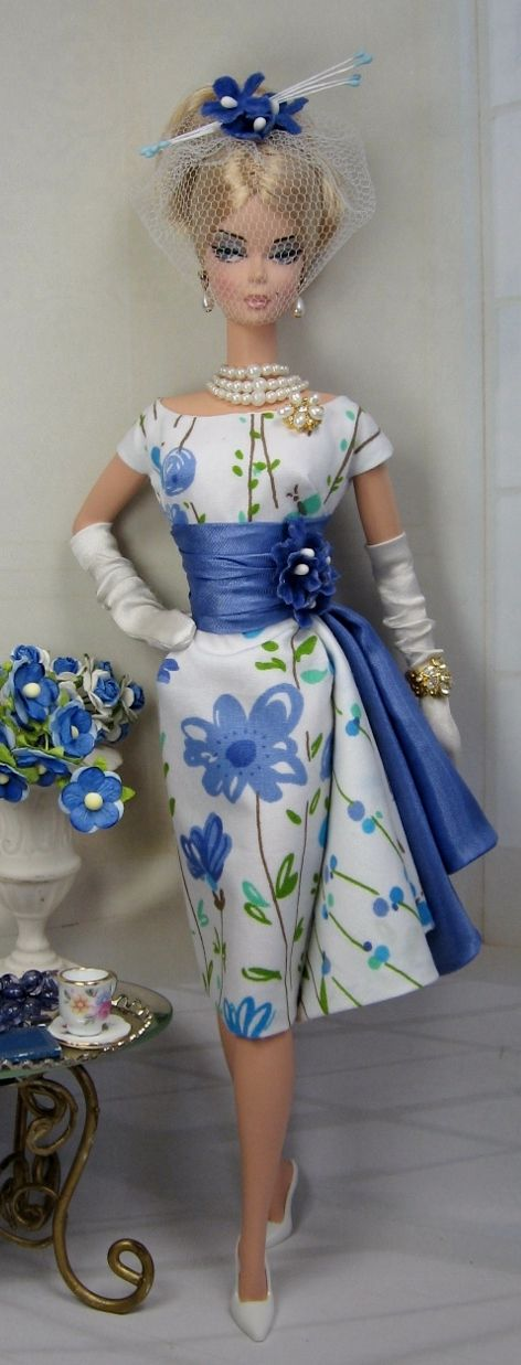 Miosota for Silkstone Barbie and Victoire Roux on Etsy now