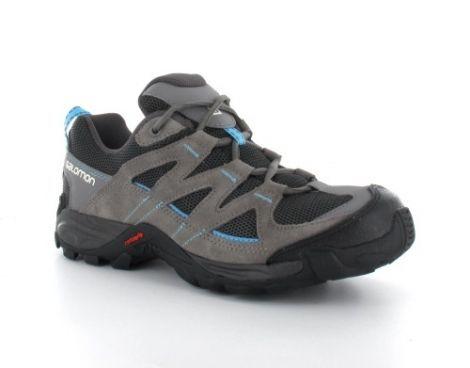 Salomon – Hatos 3 Women's – Dames Hiking Schoenen - De dames Hiking schoen van #Salomon is aan de bovenkant mooi afgewerkt met mesh, dit zorgt voor extra ventilatie rondom de voet. De split-suède en leder overlays zorgen voor duurzaamheid en de Ortholite inlegzool transporteert vocht en biedt langdurige demping en luchtstroom voor een koele voet. #Wandelschoen #Hikingschoen #Wandelschoenen #Hikingschoenen #Dameswandelschoen #Dameswandelschoenen