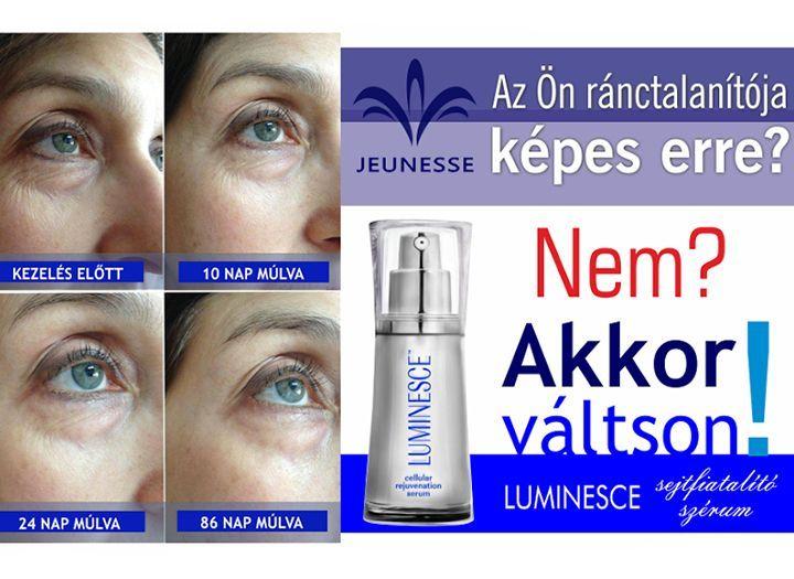 Szépség (pl. kozmetikai kezelések) Kupon - 0% kedvezménnyel - Szépség (pl. kozmetikai kezelések) - A tökéletes arc titka!  Megoldás az összes bőrproblémára! Egyedülálló sejtfiatalító, öregedésgátló, ránctalanító, bőrmegújító  LUMINESCE forradalmi szérum..