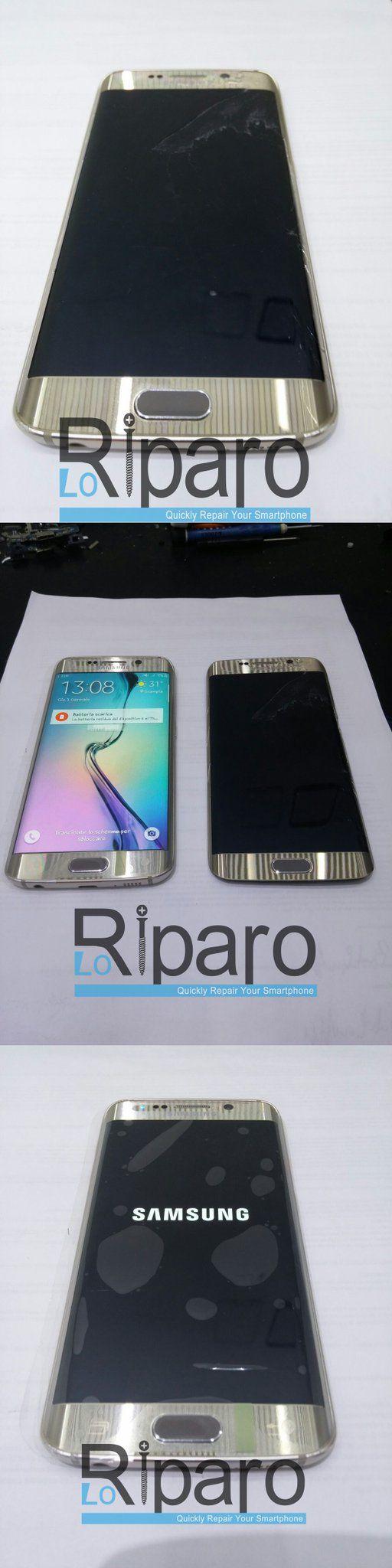 #samsung #riparazione #lcd #loriparo #s6edge  Riparazione Fatta ! ! Cambio LCD Samsung S6 Edge : 200 euro