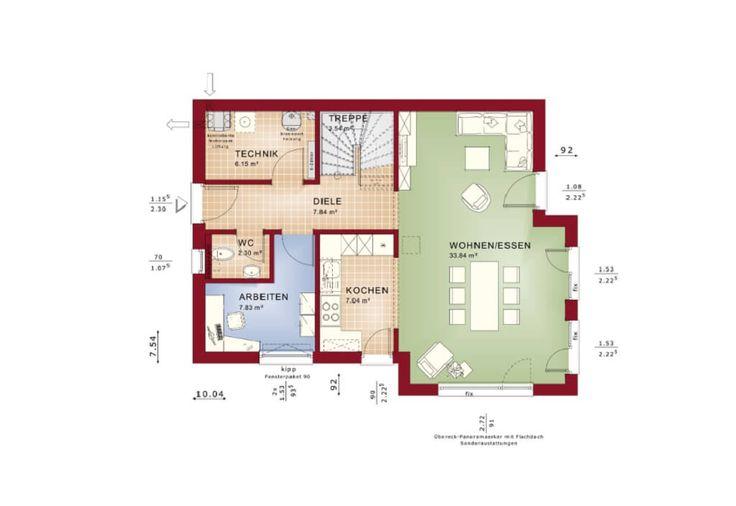 540 besten haus grundriss bilder auf pinterest. Black Bedroom Furniture Sets. Home Design Ideas