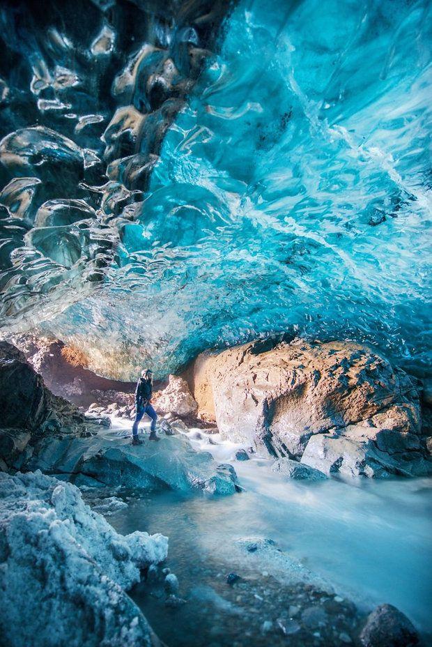 Bekijk reisfoto's, reistips en reisverslagen, Ijsland, Vatnajokull, grootste gletsjer europa, Lisa Michele Burns