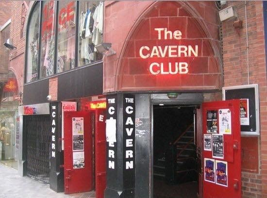 The Cavern Club in Liverpool North West England where the Beatles did Gigs in the early 1960's before becoming more famous